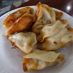 Pork dumplings at Lao Bei Fang