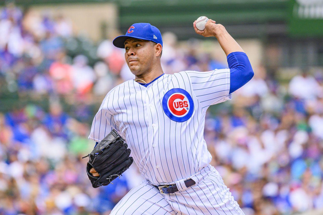 MLB: Oakland Athletics at Chicago Cubs