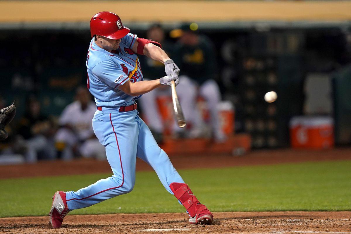 MLB: St. Louis Cardinals at Oakland Athletics