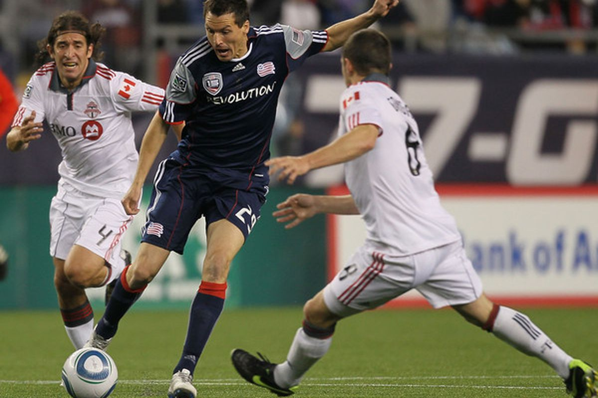 Marko Perovic has been the Revolution's most consistent offensive threat.