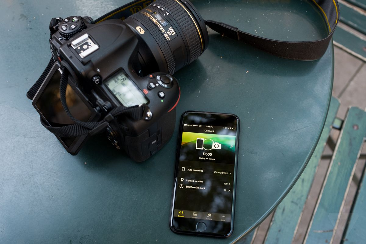 Nikon's new wireless tethering feature will change the way