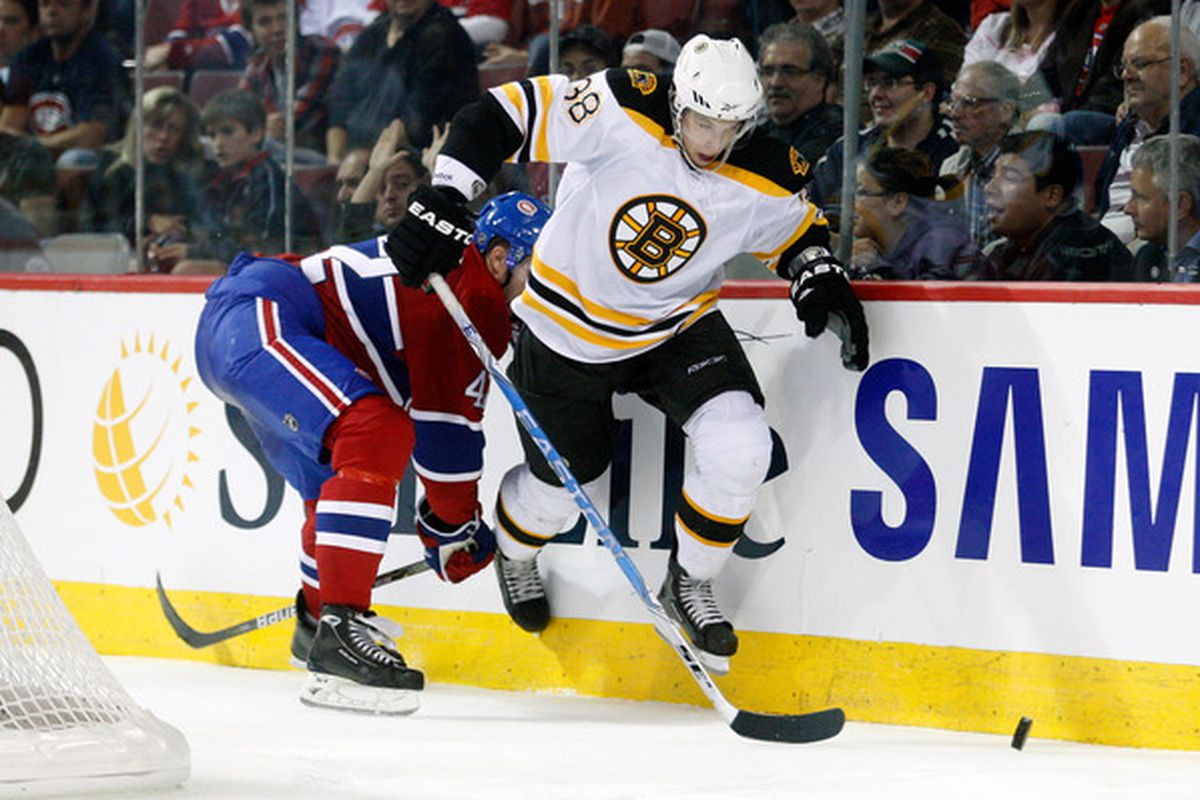 Jordan Caron had an assist in a losing effort for the Providence Bruins Friday night at the Dunkin Donuts Center.