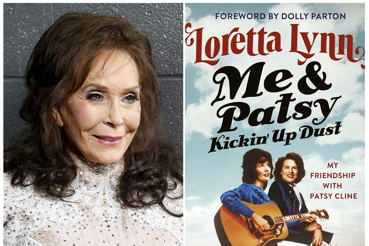"""Loretta Lynn released her new memoir, """"Me & Patsy Kickin' Up Dust: My Friendship with Patsy Cline,"""" on Tuesday."""