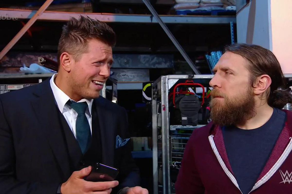 Image result for The Miz and Daniel Bryan survivor series co-captains
