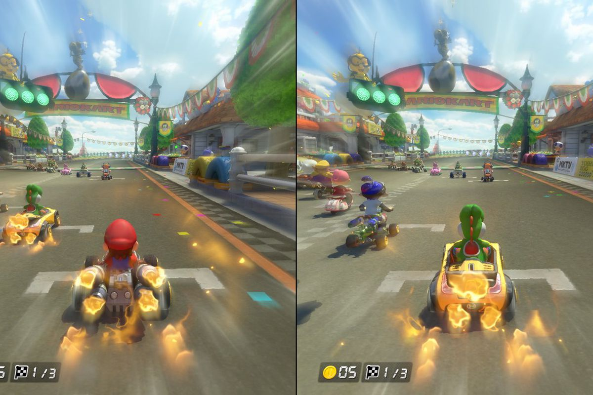 Mario Kart is the first game to make good on the Switchs