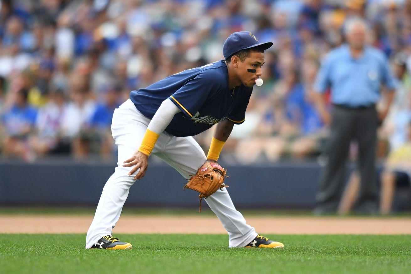 MLB: SEP 23 Cubs at Brewers