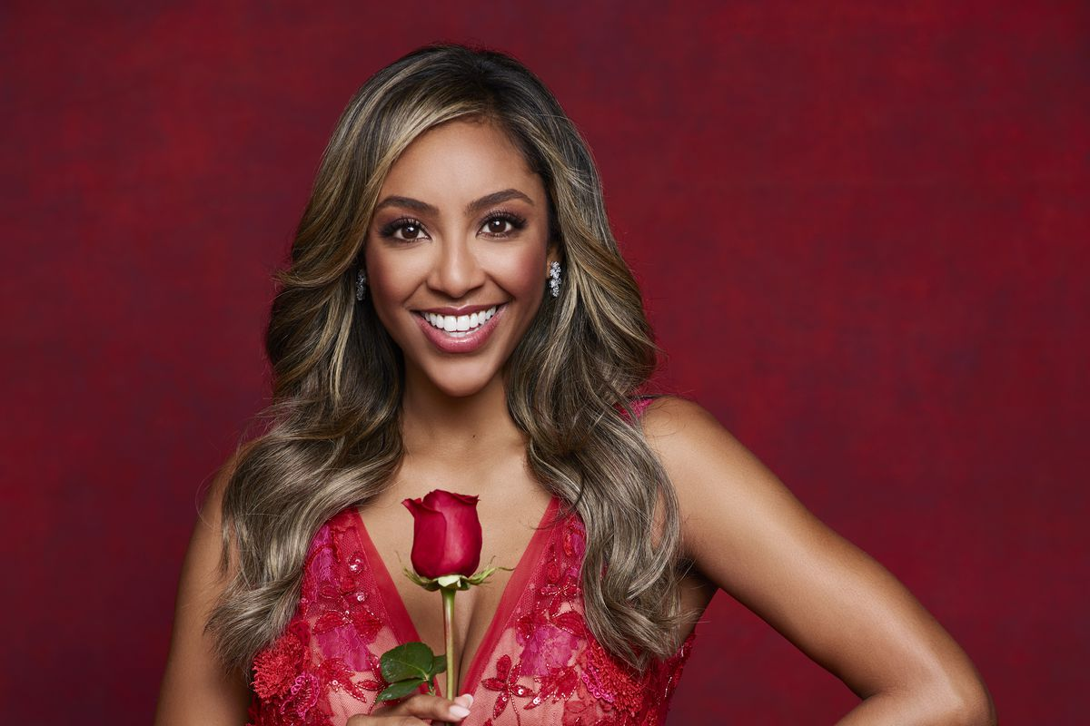 """Tayshia Adams will be joined by Kaitlyn Bristowe as hosts of the upcoming season of """"The Bachelorette."""""""