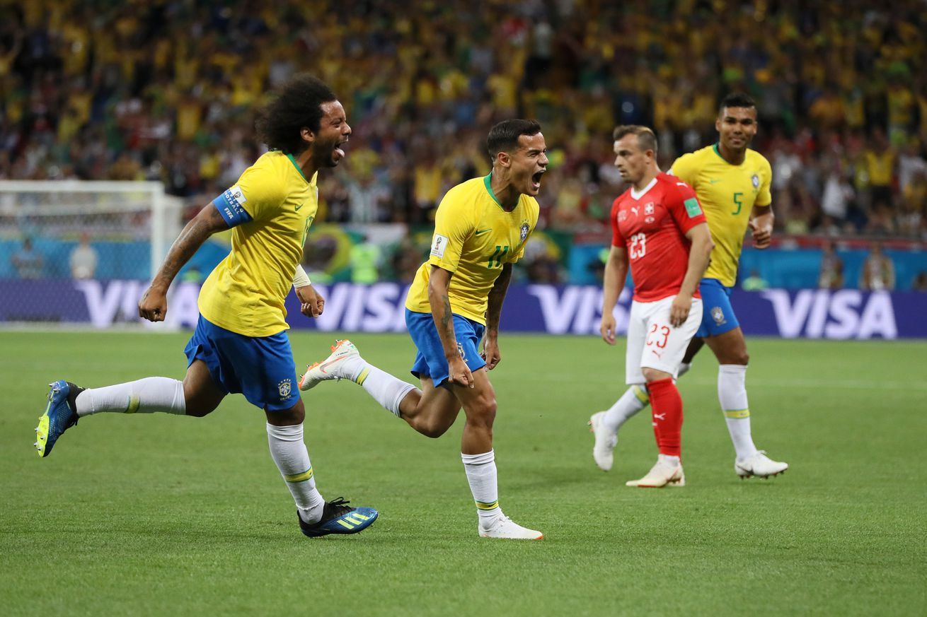 Brazil 1-1 Switzerland: Upset