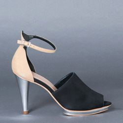 """<b>Loeffler Randall</b> Two-Tone Platform Sandals, <a href=""""http://shopbird.com/product.php?productid=25307&cat=577&manufacturerid=&page=1"""">$259</a> at Bird"""