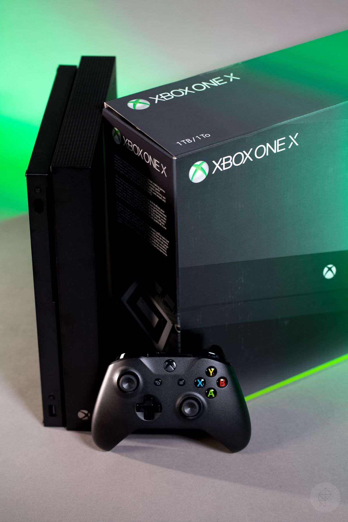 The Xbox One X looks unremarkable, except for its size ...