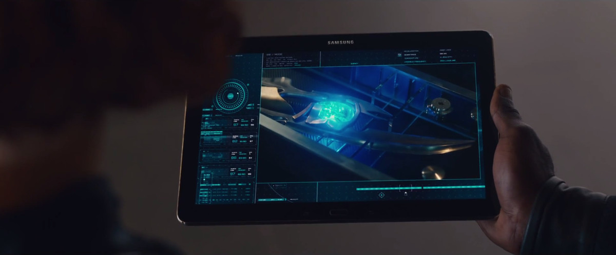 samsung ultron product placement