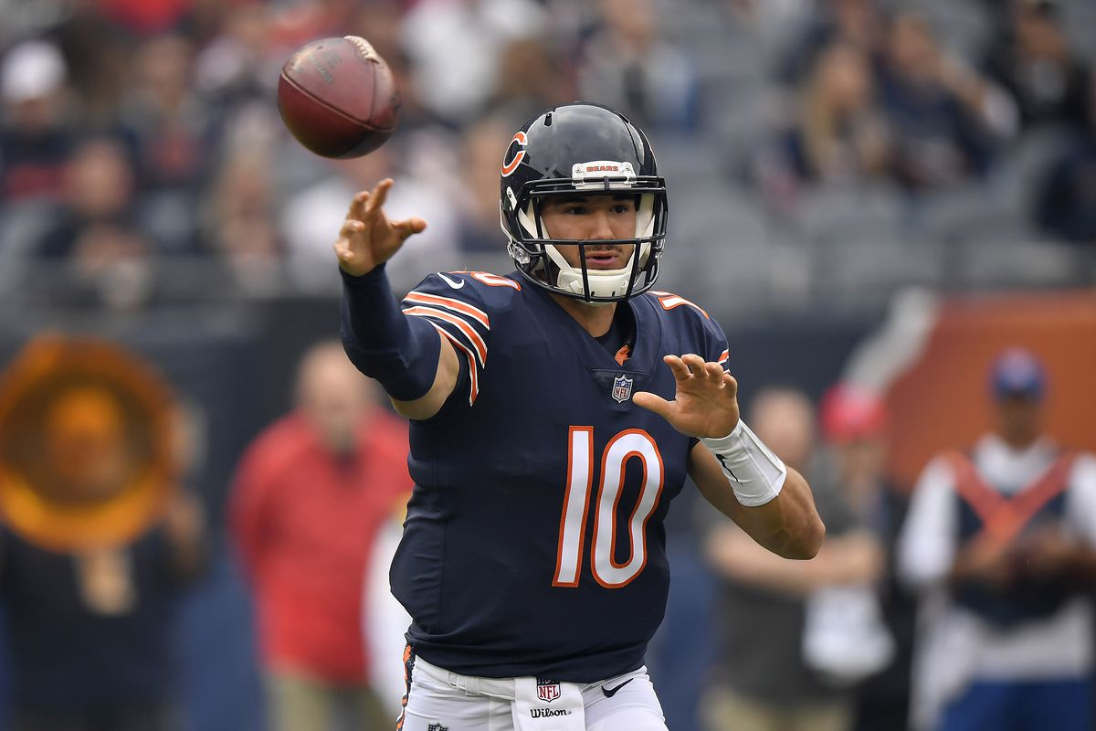 Mitchell Trubisky had the best day ever for a Bears QB - SBNation.com 9f8ac9a43