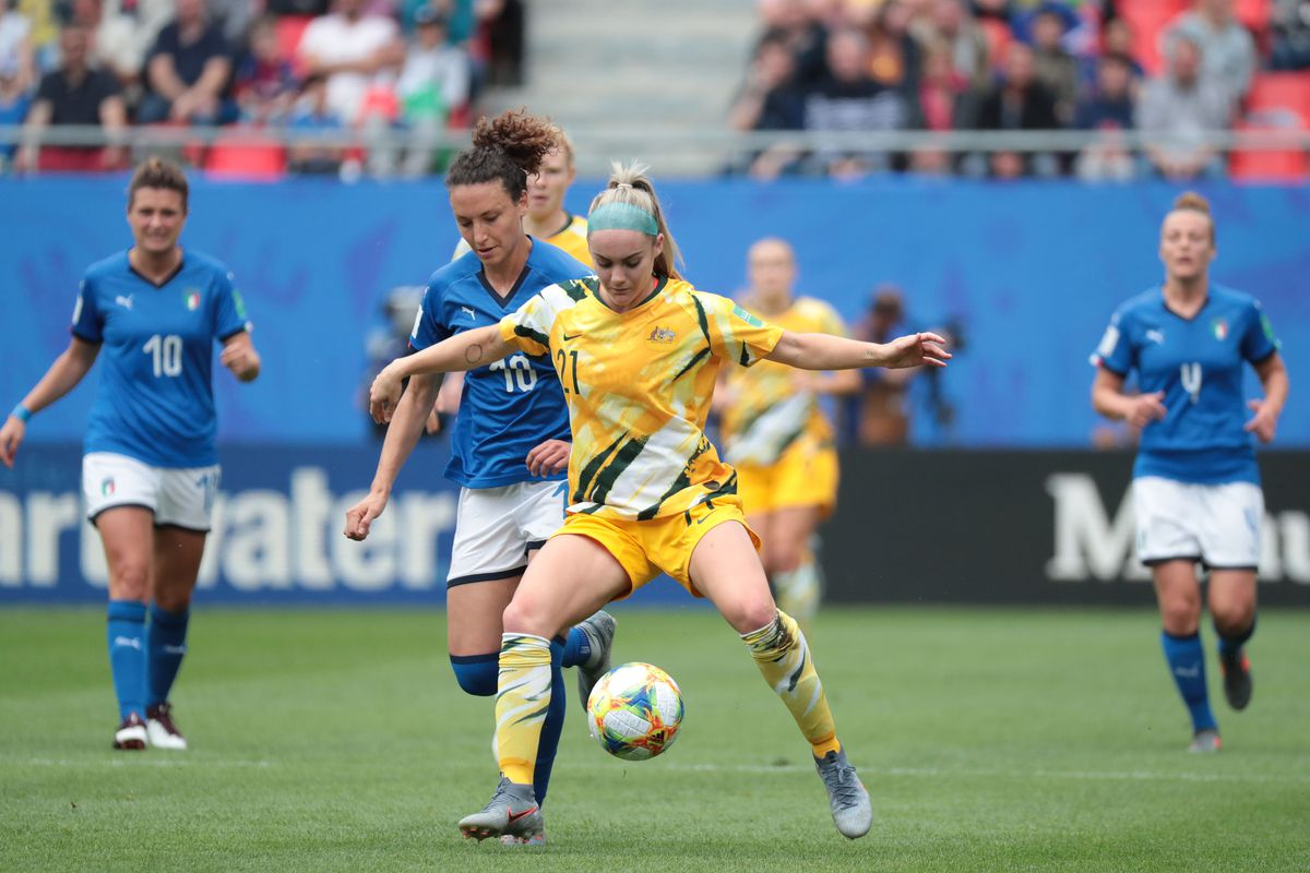 Soccer: Womens World Cup-Italy at Australia