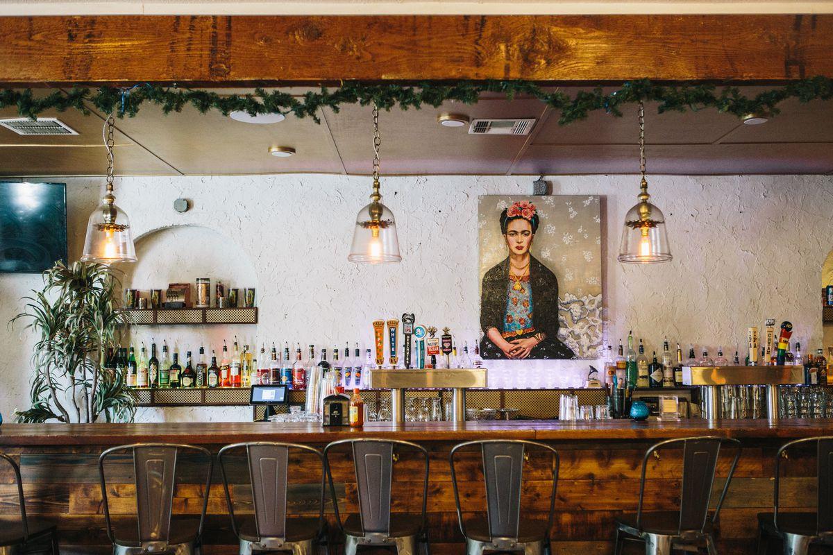 TamaleHouseEast's recently expanded bar