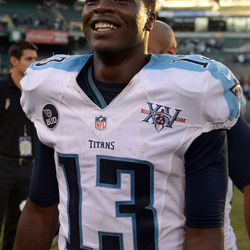 Tennessee Titans WR Kendall Wright