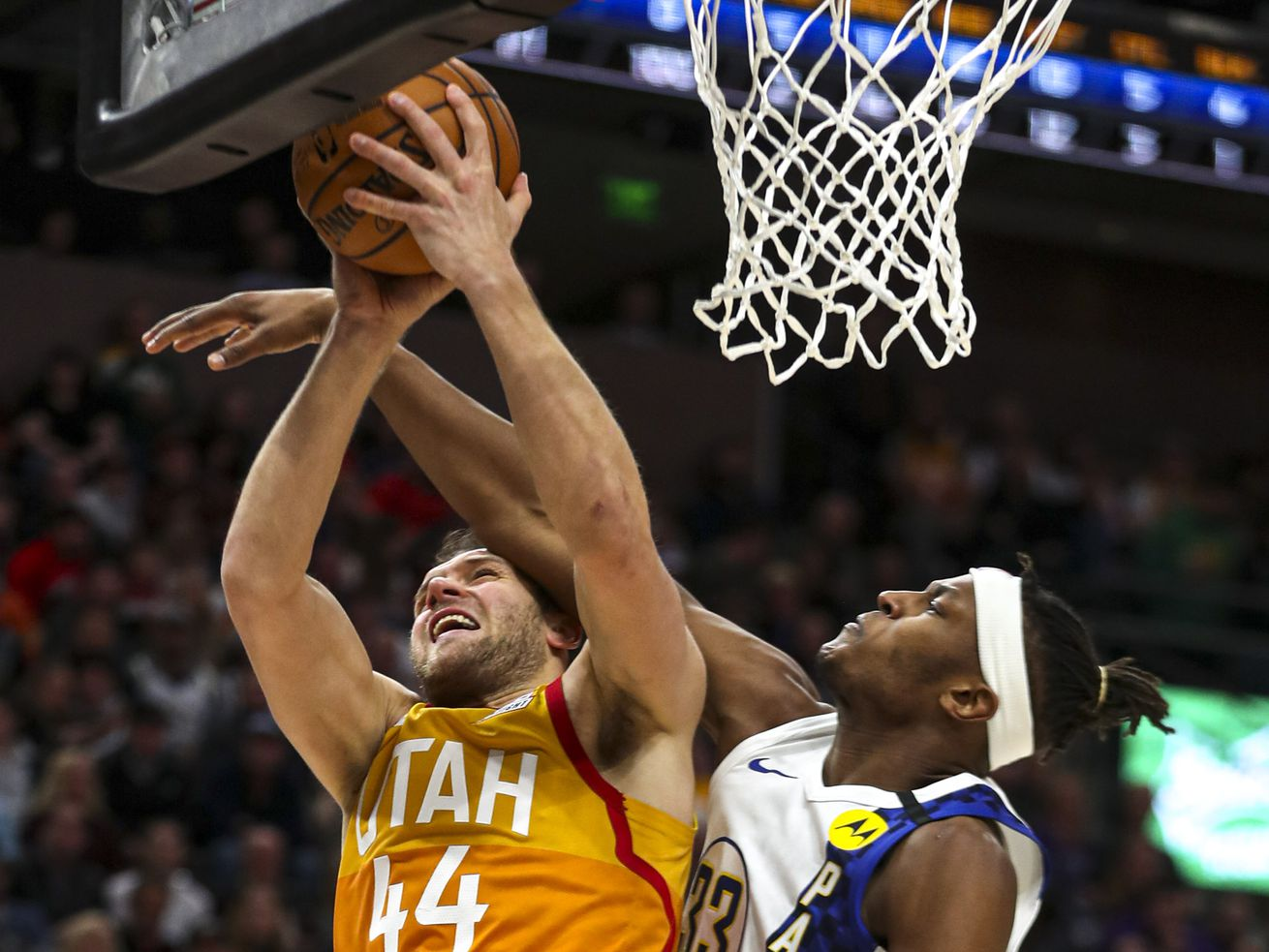 Utah Jazz finally play a good team, dominate Indiana Pacers by 30