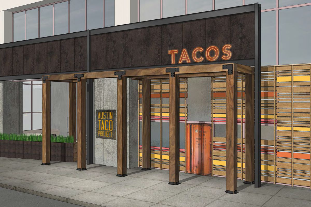Rendering of Austin Taco Project in Hilton Austin