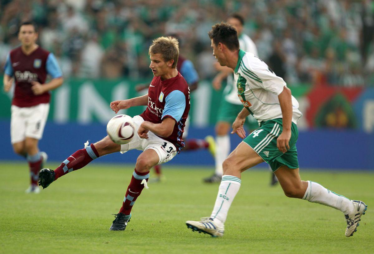 Rapid Vienna v Aston Villa - UEFA Europa League Play Off