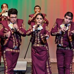 """Musicians in a mariachi ensemble at Zapata High School in South Texas are profiled in """"Mariachi High."""""""