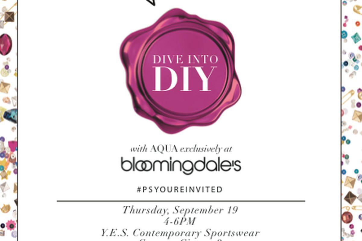 Flyer via Bloomingdale's