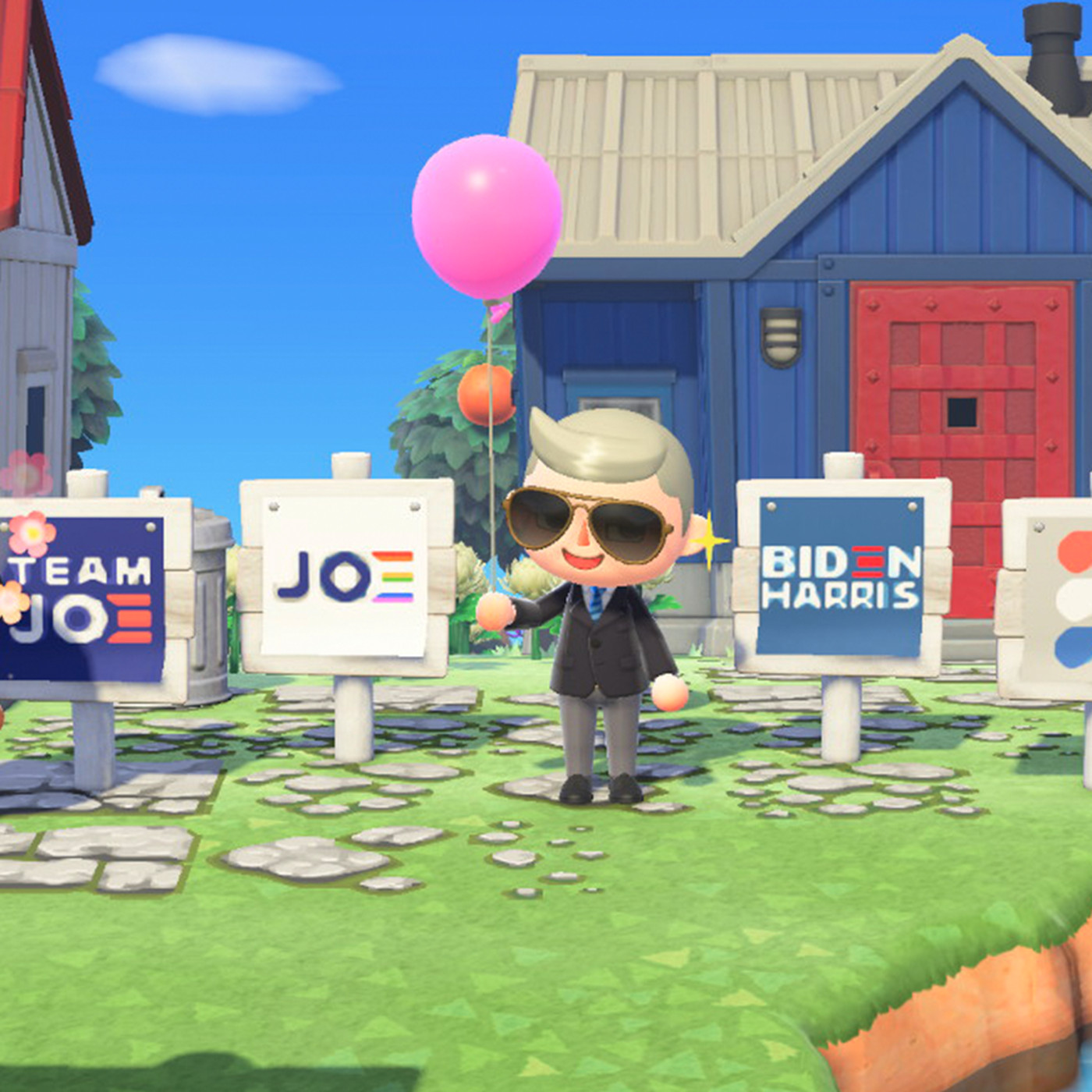 Biden Campaign Launches Official Animal Crossing New Horizons Yard Signs The Verge