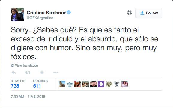 Kirchner tweet 2