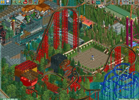 Time's a Flat Ferris Wheel: Enduring Legacy of 'RollerCoaster Tycoon