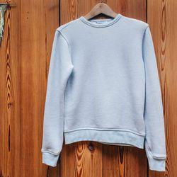 <b>Alexander Wang T</b> Robust Terry Crew Sweatshirt, $195