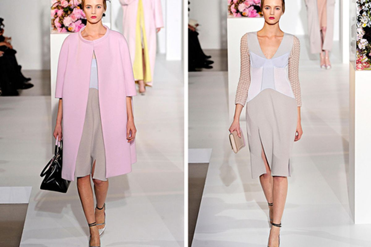 "Jil Sander Fall 2012, Raf Simons' last at the house, via <a href=""http://www.vogue.com/fashion-week/fall-2012-rtw/jil-sander/runway/"">Vogue.com</a>"