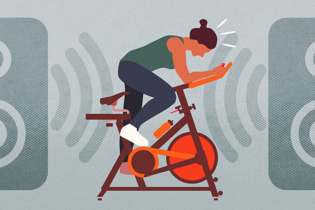Indoor cycling can be great for your heart — and toxic for
