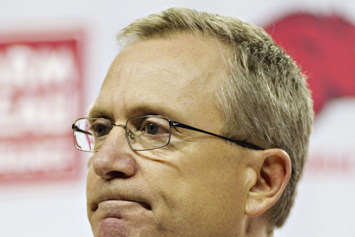 Arkansas Vice Chancellor and Director of Athletics Jeff Long - News Conference