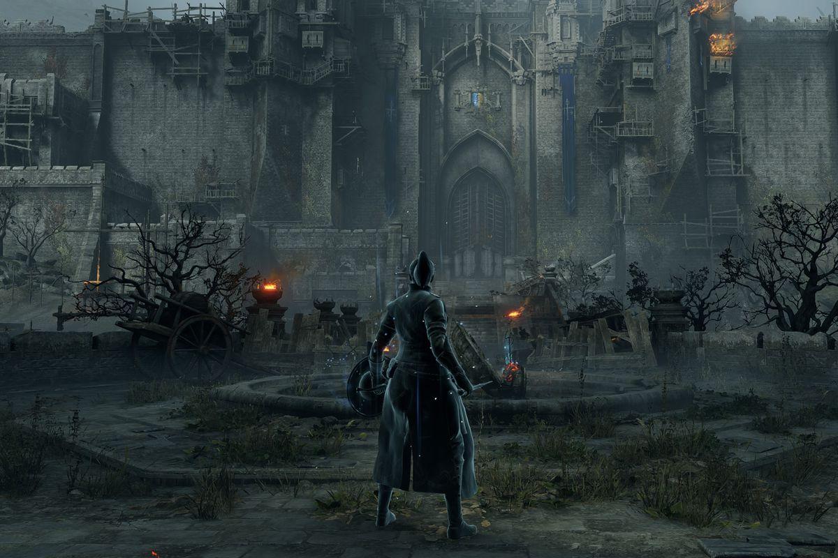 The Gates of Boletaria from Demon's Souls