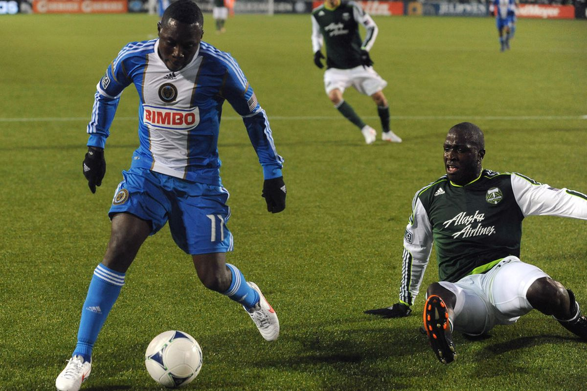 United States U-23 International Freddy Adu will not feature against the Rapids on Sunday due to Olympic Qualifying. Union teammate Amobi Okugo will also miss for the USA U-23's.