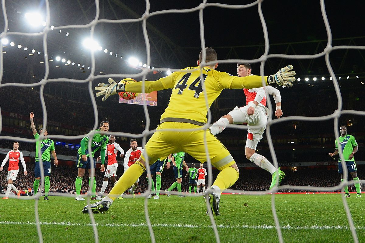 There may not be a player in better form in the Premier League than Southampton GK Fraser Forster.