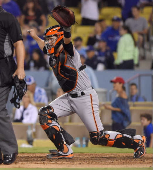 <em>Buster Posey won three World Series for the Giants, including 2010 as a rookie</em>