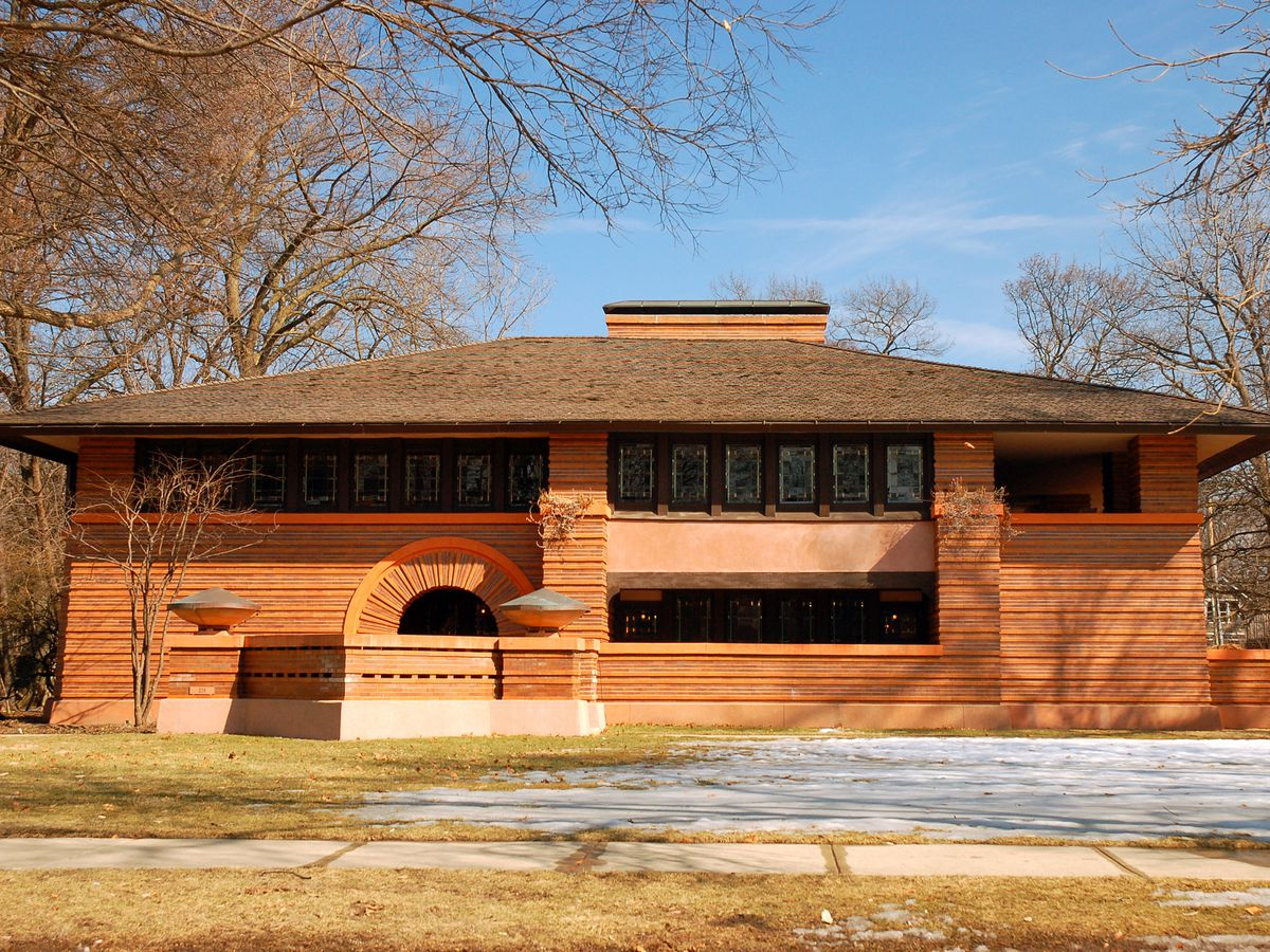 Lloyd Frank Wright Houses 25 frank lloyd wright buildings in oak park, mapped - curbed