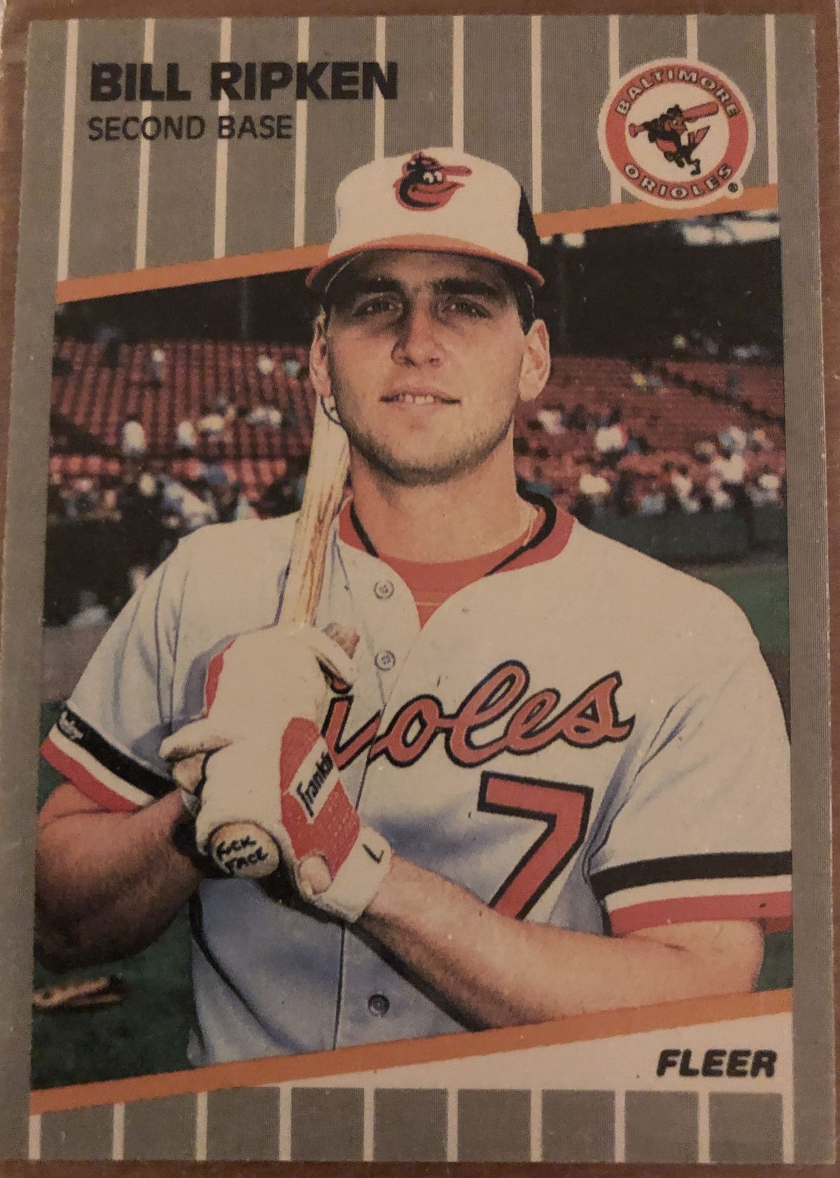 The 1989 Fleer Bill Ripken Card 30 Years Later Sbnationcom
