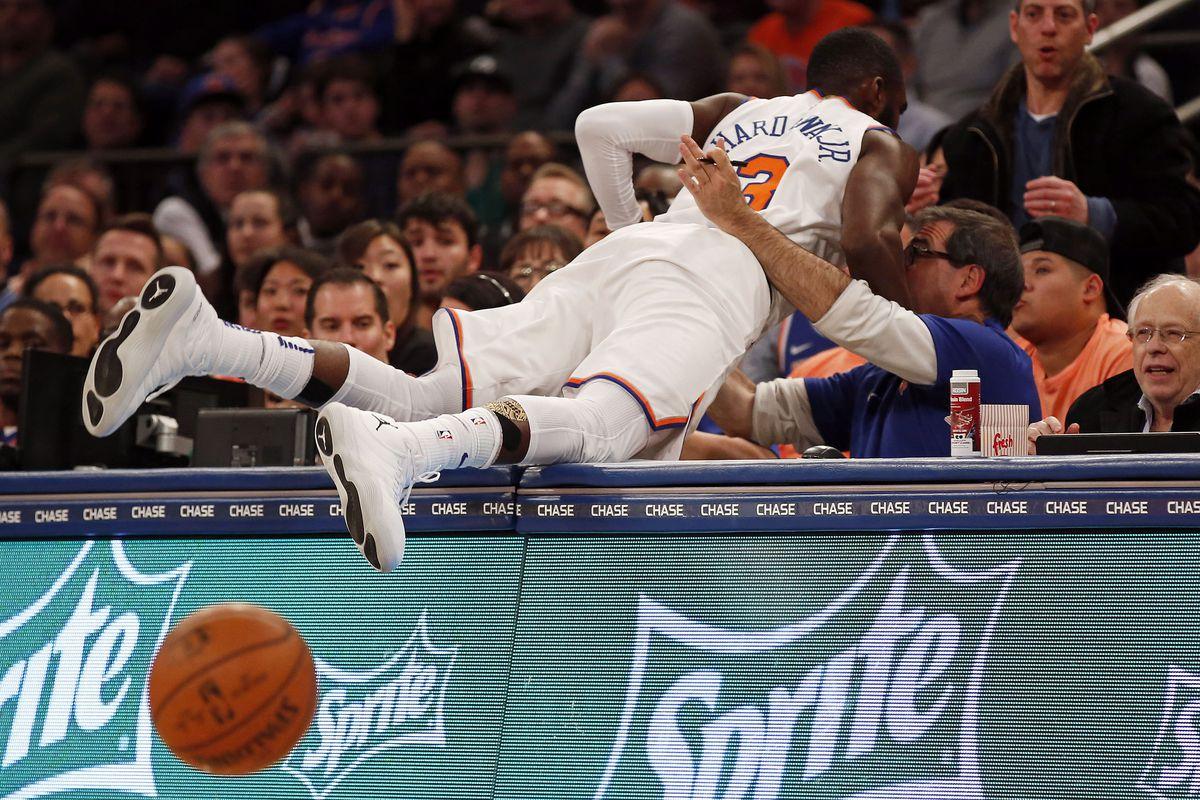 NBA: Toronto Raptors at New York Knicks