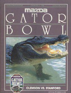 1986 Gator Bowl Program