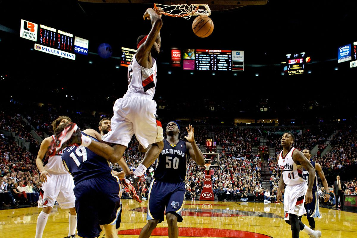 Portland Trail Blazers vs  Memphis Grizzlies: Blazers Get