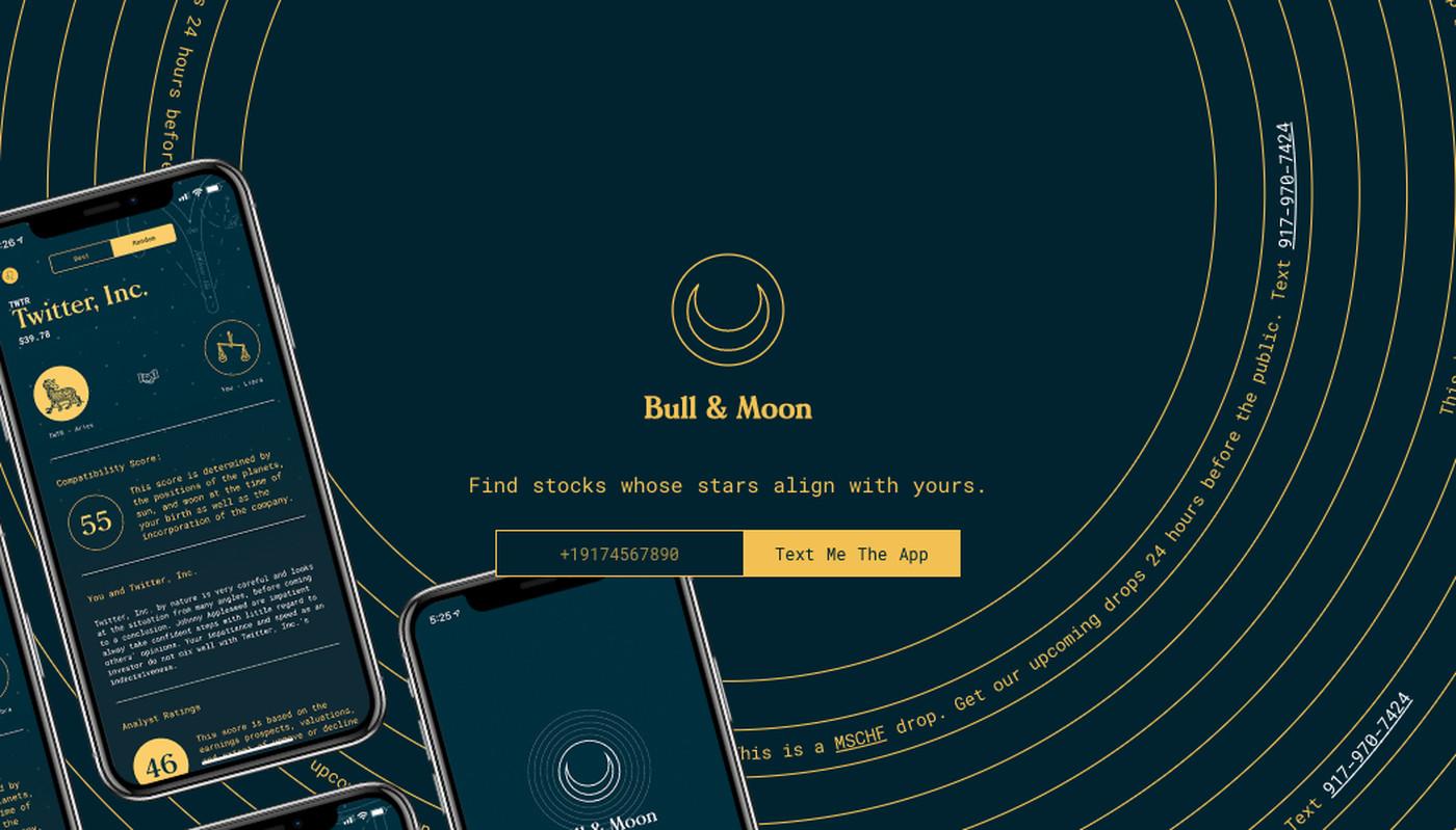 Bull & Moon