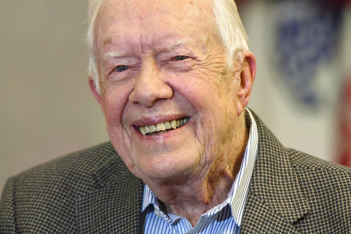 Jimmy Carter admitted to the hospital