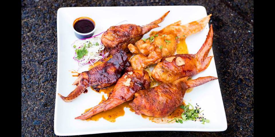 Bochi Food Truck At Cartlandia Is Dedicated To Stuffed Chicken Wings
