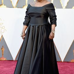 """Whoopi Goldberg said her dress was inspired by Bette Midler in """"All About Eve."""" Photo: Jeff Kravitz/Getty Images"""