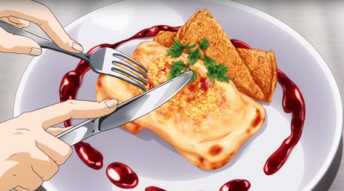 An image of a dish from Food Wars!
