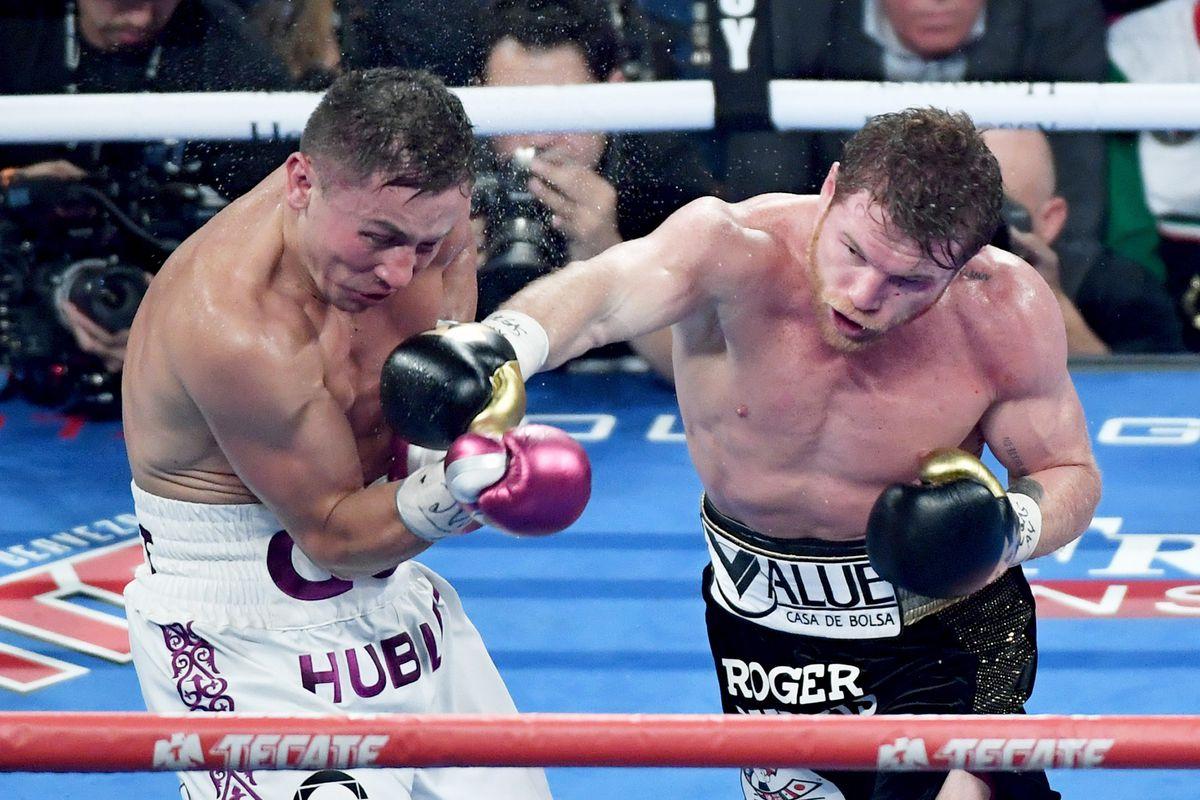 Canelo Alvarez Vs Golovkin  Compubox Stats Show How Close Fight Was Mmamania Com