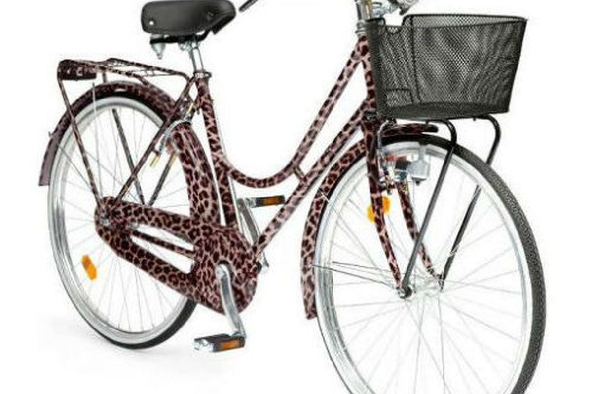 """Exercise in style, via <a href=""""http://www.thelifefiles.com/2012/04/22/check-out-the-dolce-gabbana-animalier-bicycle/"""">The Life Files</a>"""