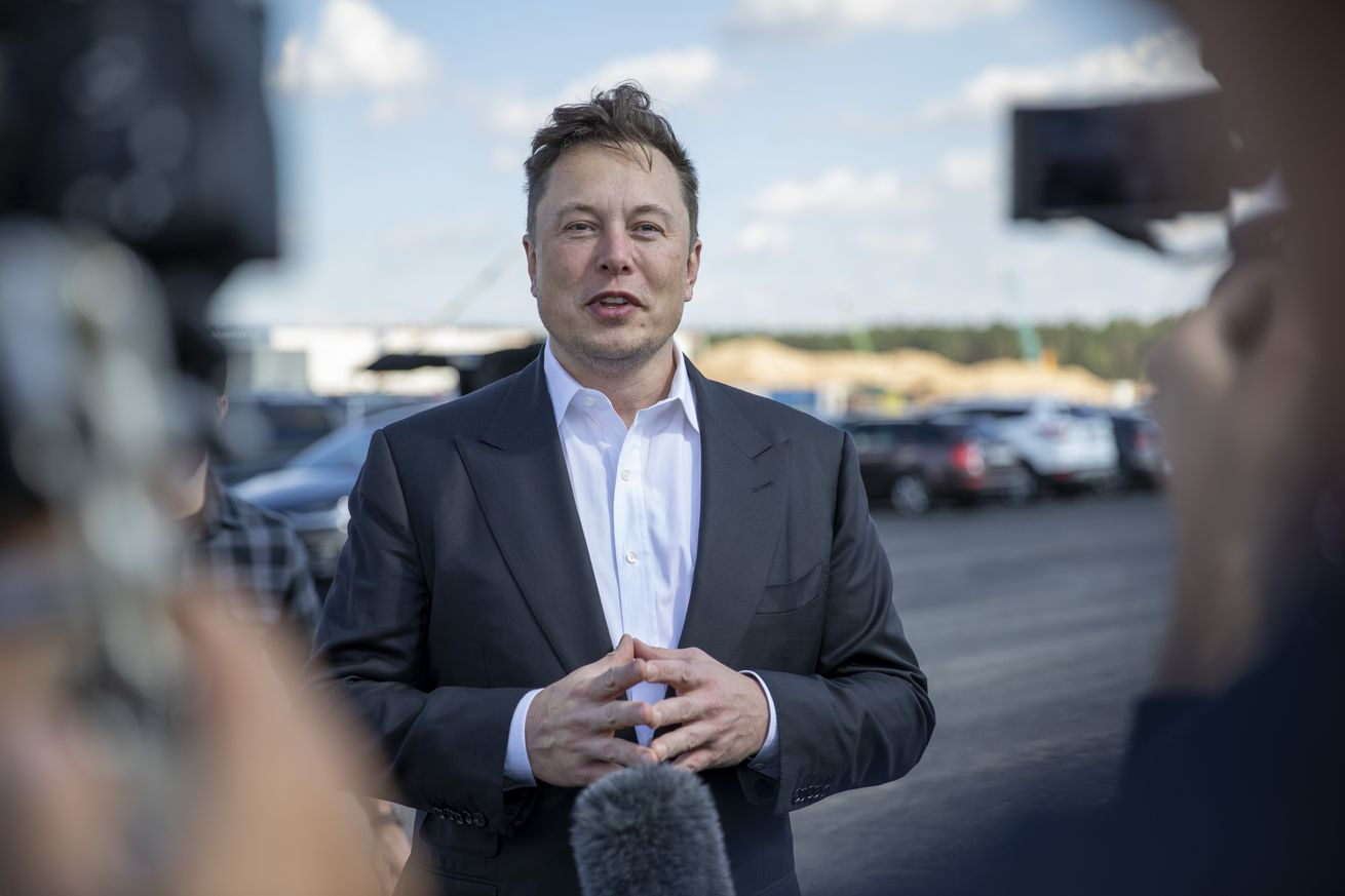 Elon Musk Visits Germany