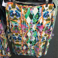 Milly printed skirt, $40