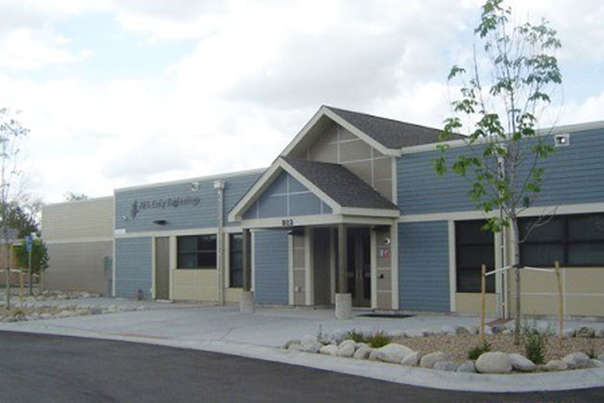 The Aurora school district's Early Beginnings building on the campus of Jamaica Child Development Center.